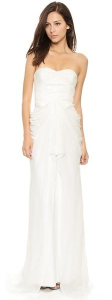Mariage - Badgley Mischka Collection Lace Corset Gown