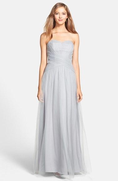 496281fad2f ML Monique Lhuillier Bridesmaids Back Drape Tulle Gown  2171593 ...
