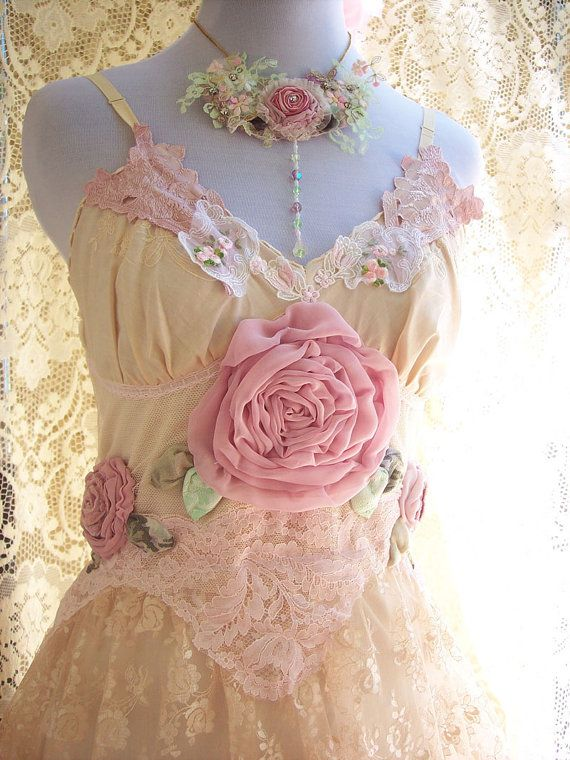 Reserved Listing Vintage Lace Rose Blossom Dress 2171772 Weddbook