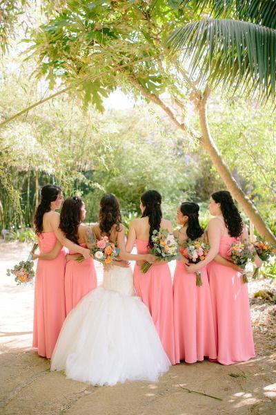 Mariage - Pink San Diego Botanic Garden Wedding