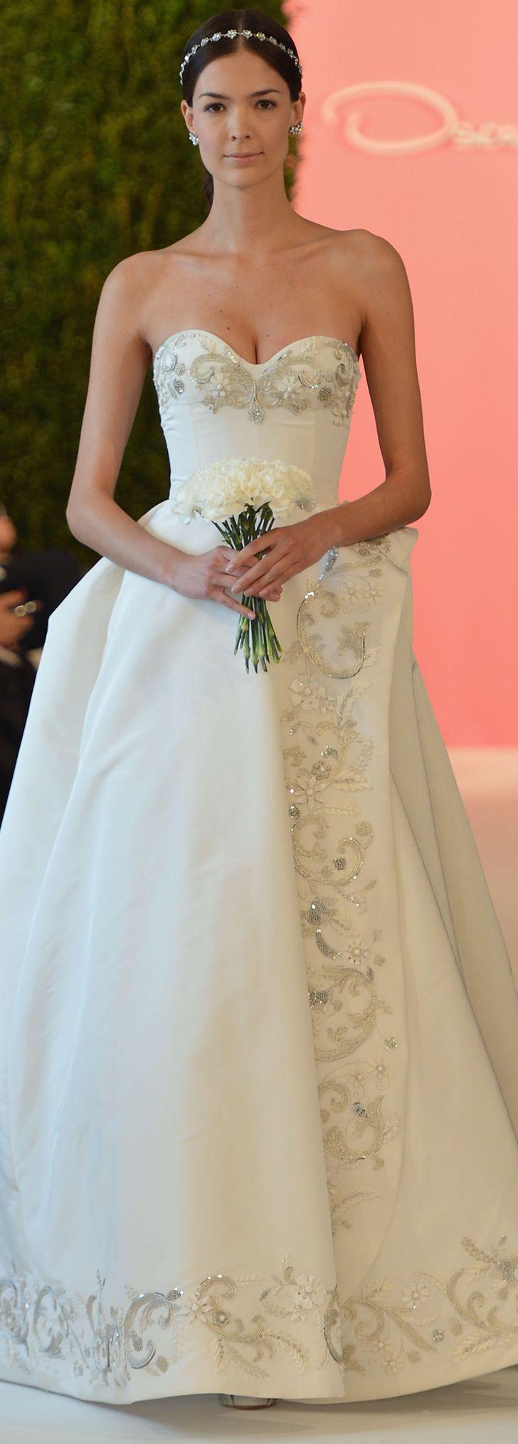 Hochzeit - There Was Something New At Oscar De La Renta Bridal