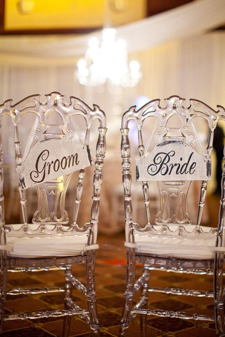 Wedding - ♥~•~♥ Wedding ►Chair Covers And Decors