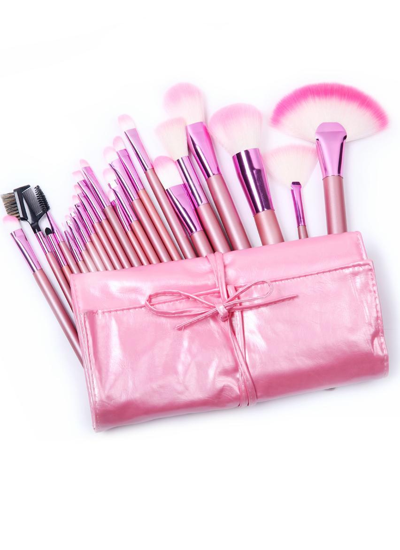 Свадьба - 22pcs Pink Makeup Brush Set