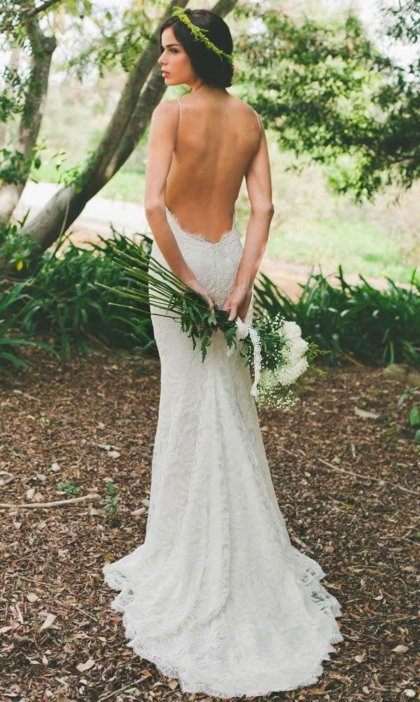 Mariage - Saturday Style: Backless Wedding Dresses By Katie May