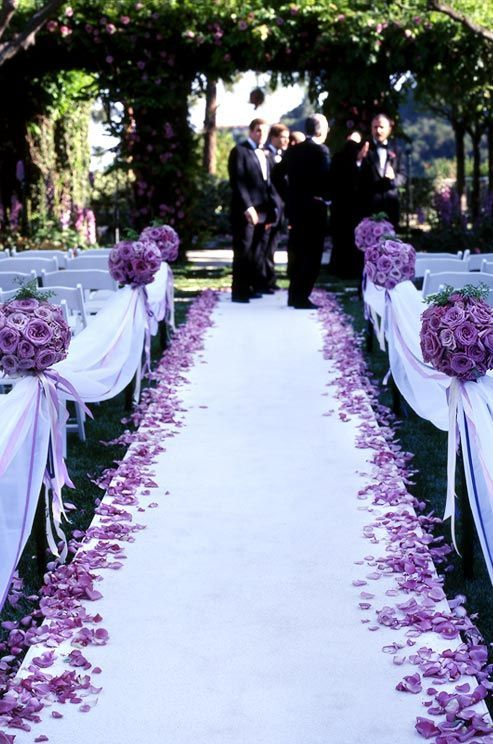 Garden Wedding Purple Passion 2173704 Weddbook