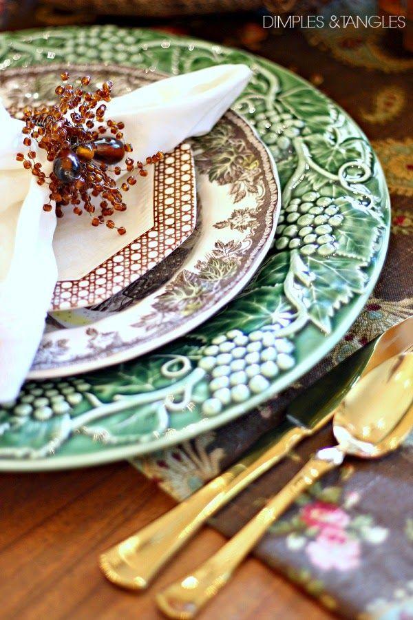 Mariage - Garden Tablescapes