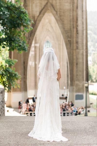 Wedding - Romantic Outdoor Portland Wedding