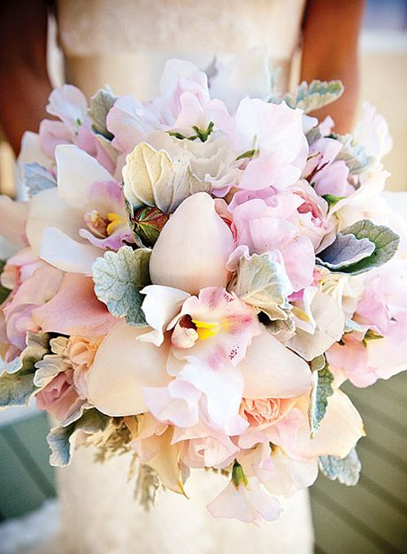 Mariage - Cymbidium Orchids Wedding Flowers, Bouquets And Arrangements: In Season Now