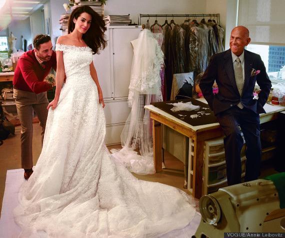 Wedding - Amal Alamuddin's Wedding Dress Was Too Heavy For Her Flower Girl