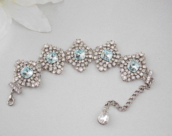 Wedding Bracelet Crystal Bridal Bracelet Rhinestone Bridal