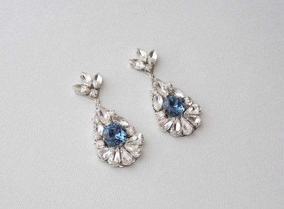 Wedding Earrings Bridal Earrings Deco Earrings Gatsby Earrings