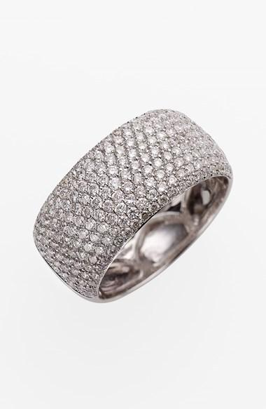 Bony levy 9 row pave diamond ring nordstrom exclusive for Nordstrom wedding rings
