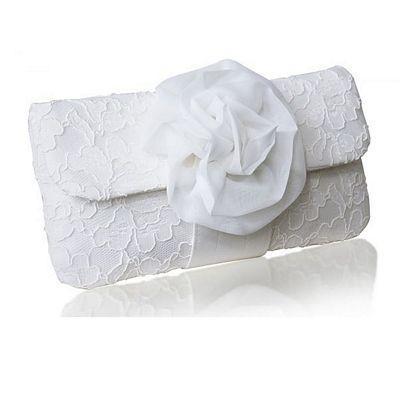 Свадьба - Eva Clutch Ivory Lace (eg)