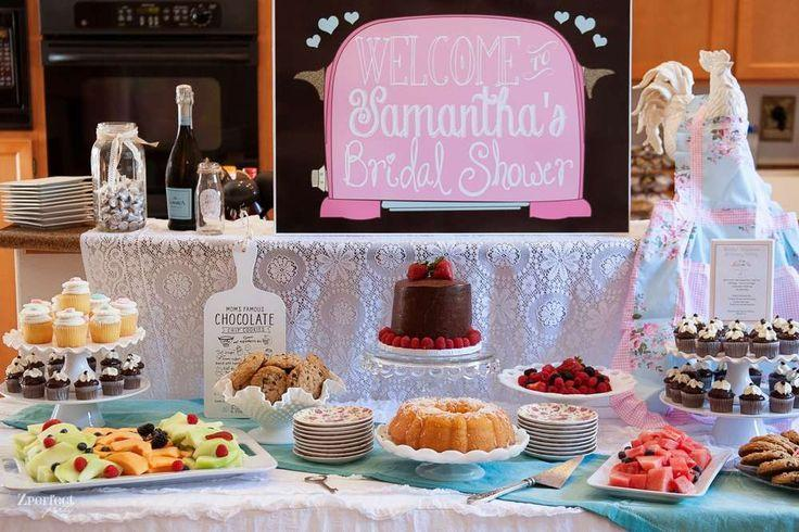 cooking theme bridal shower bridalwedding shower party ideas