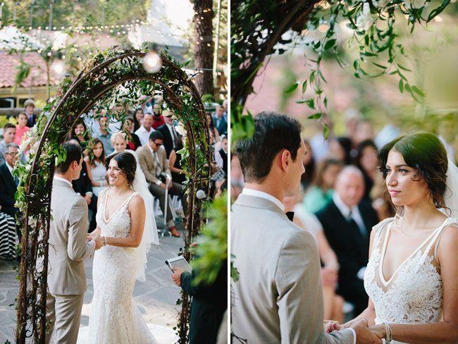 Mariage - Garden-Inspired LA Wedding: Kristen   Taylor