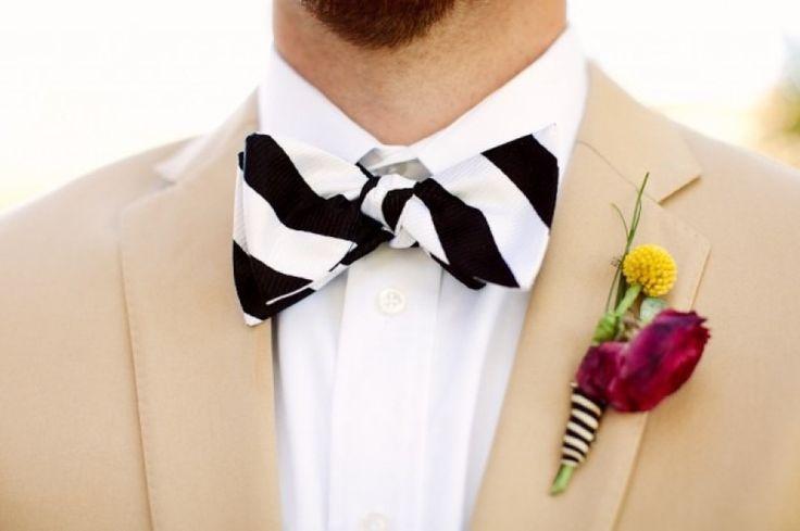 Wedding - 8 Ways To Use Stripes In Your Wedding