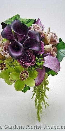 Свадьба - Bouquets In  Purple