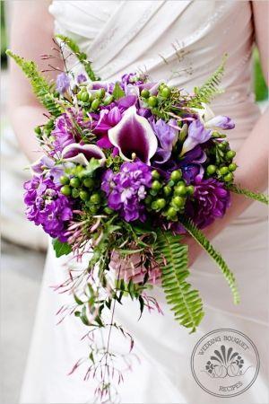 Свадьба - Cascading Bouquets