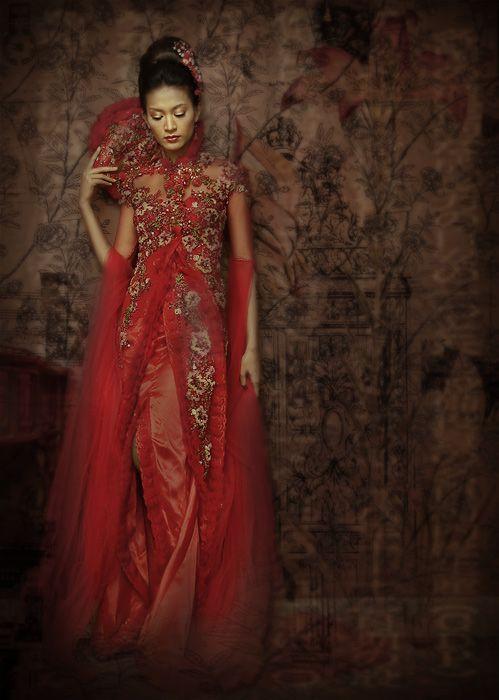 زفاف - Kebaya, Indonesian National Blouse For Woman