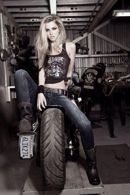 Свадьба - Girl Bike