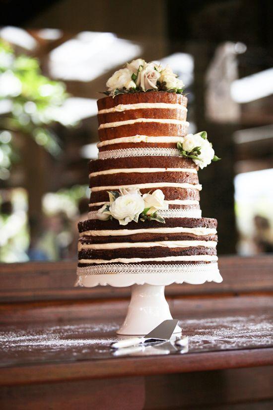 Свадьба - Naked Wedding Cakes