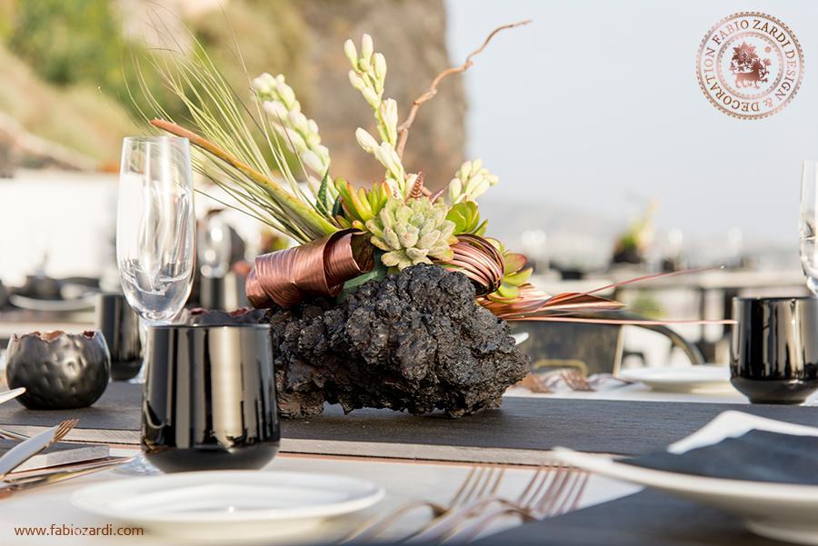 زفاف - Private dinner in Santorini