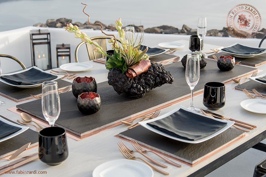 Mariage - Private dinner in Santorini