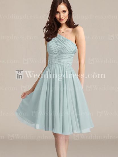 Wedding - One-Shoulder Bridesmaid dress