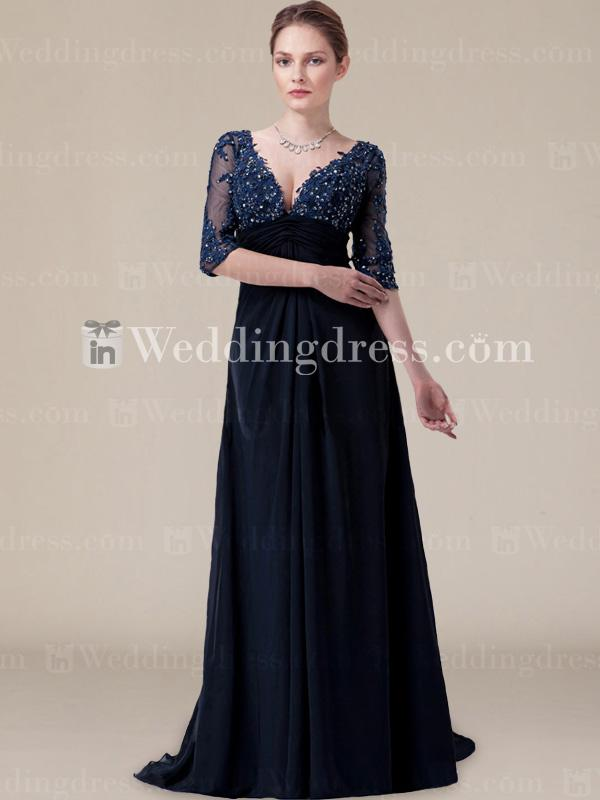 Boda - Modern Chiffon Bride Mother Dress