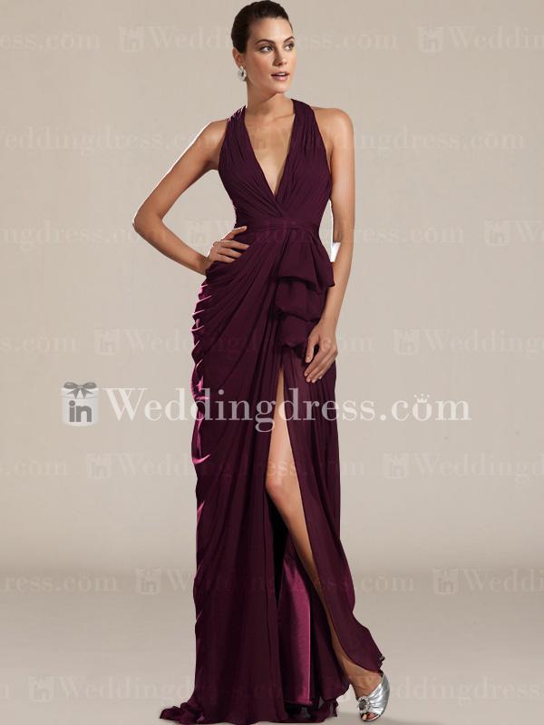 Wedding - Halter Prom Dress