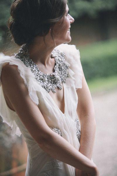 Romantic ethereal tuscan wedding 2177152 weddbook for Romantic ethereal wedding dresses