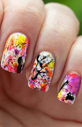 زفاف - 8 Easy Nail Art Ideas For Summer