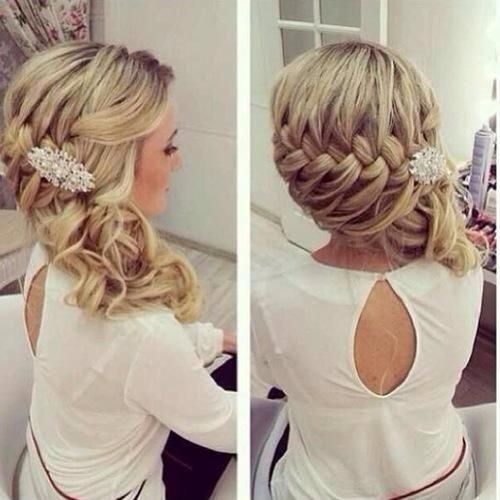 زفاف - 22 Glamorous Wedding Hairstyles For Women