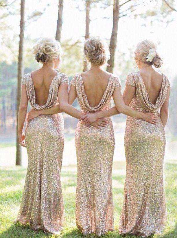 Mariage - Gold And Glittery Weddings