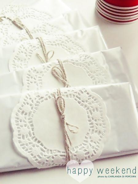 Mariage - Doily Wedding Decorations