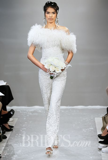 Theia Wedding Dresses Fall 2015 Bridal Runway Shows Brides
