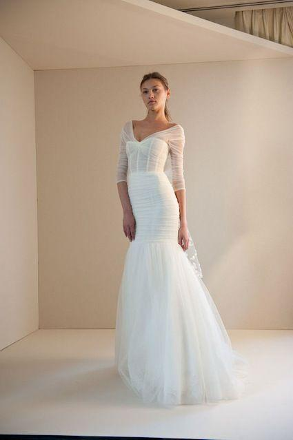 Mariage - Long Sleeved & 3/4 Length Sleeve Wedding Gown Inspiration