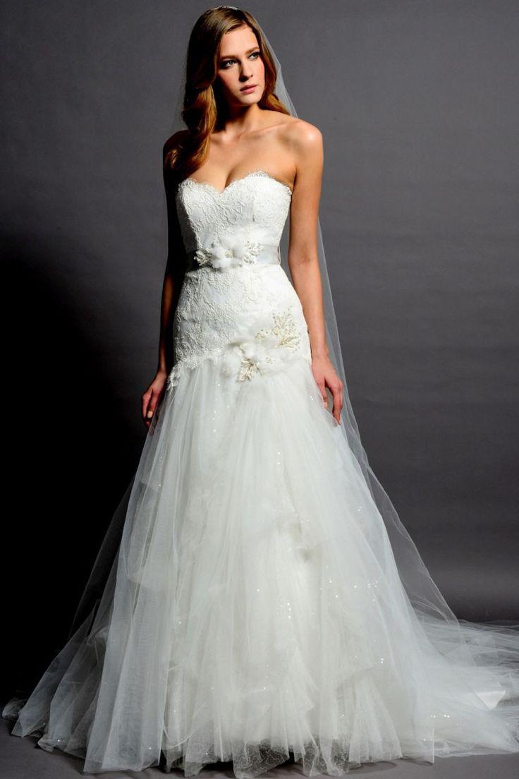 Свадебное платье без лямок