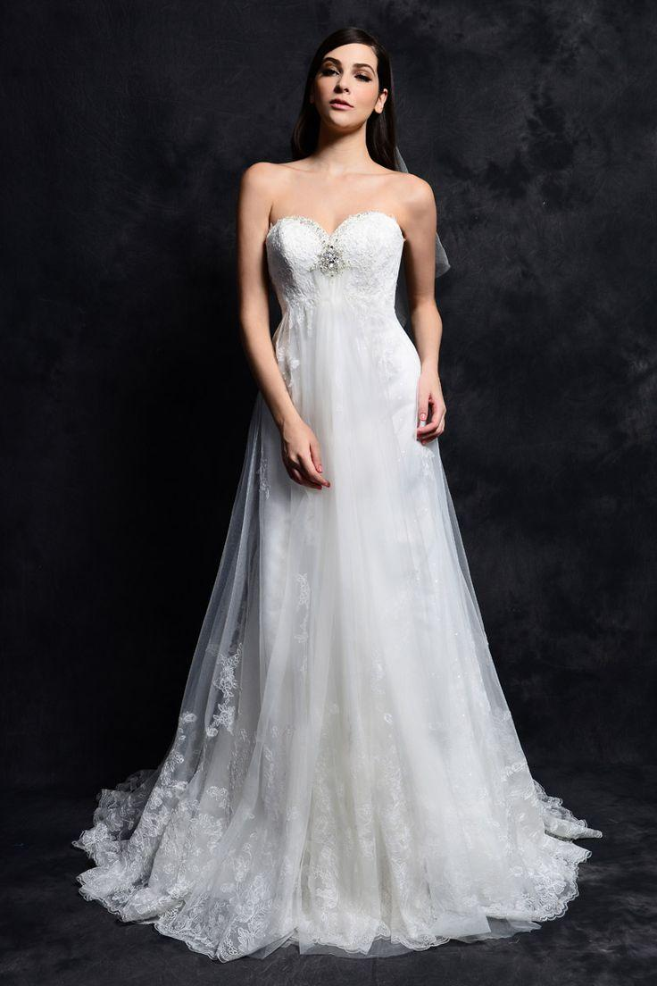 Düğün - Strapless Wedding Dress Inspiration