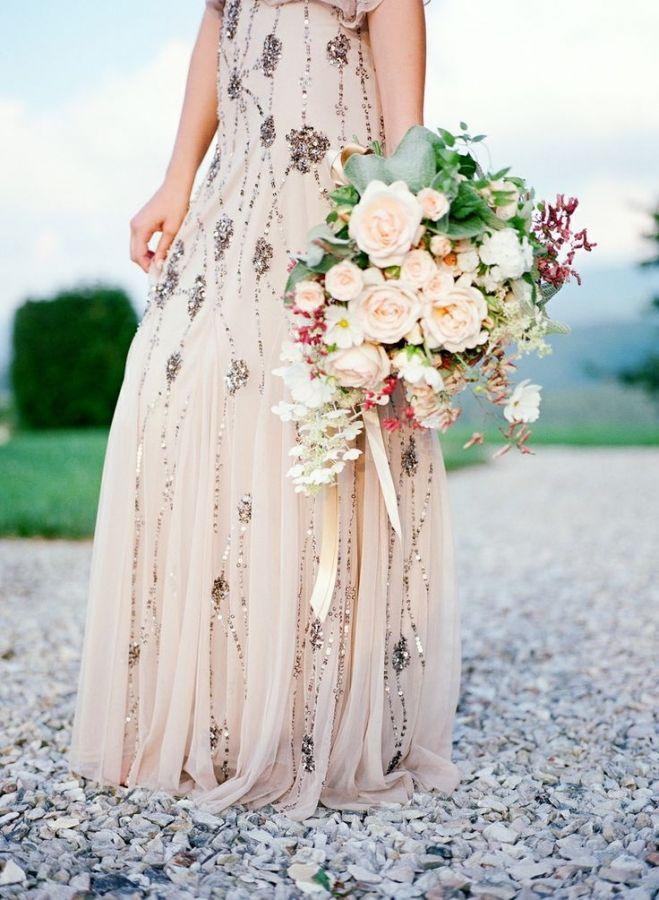 Wedding - Elegant Country Manor Wedding Inspiration In Marble And Blush