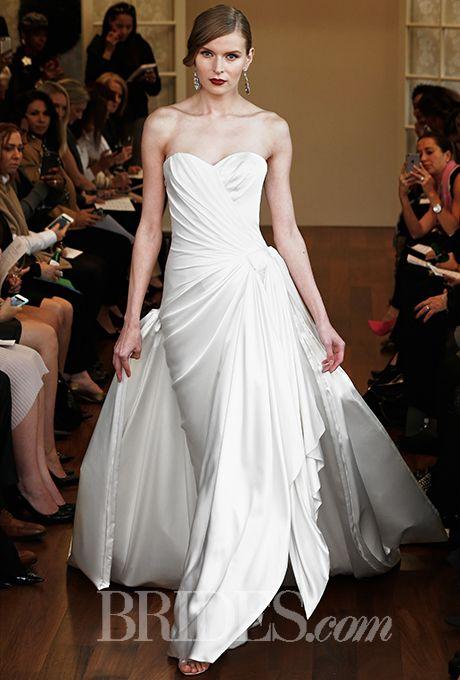 Wedding - Isabelle Armstrong Wedding Dresses Fall 2015 Bridal Runway Shows Brides.com