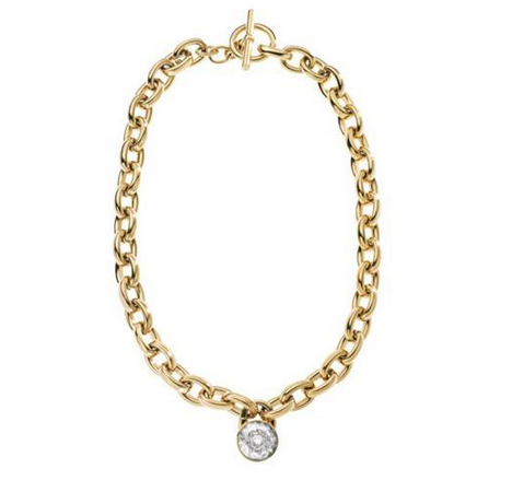 Hochzeit - Michael Kors Diamond Golden Necklaces