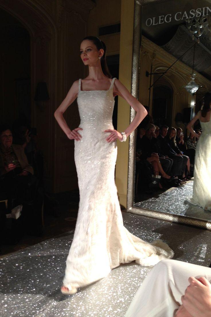 Hochzeit - Oleg Cassini New York Bridal Market 2015 (BridesMagazine.co.uk)
