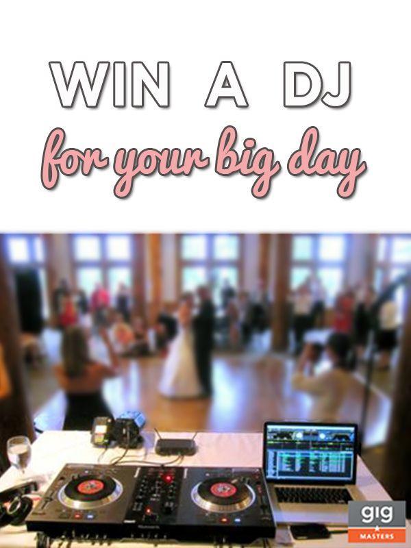 Свадьба - Wedding Giveaway : Win Your Wedding DJ From GigMasters   WeddingMix