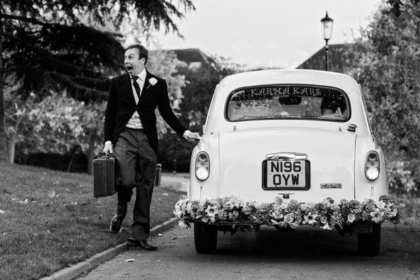 Wedding - Whisked Away In Style...