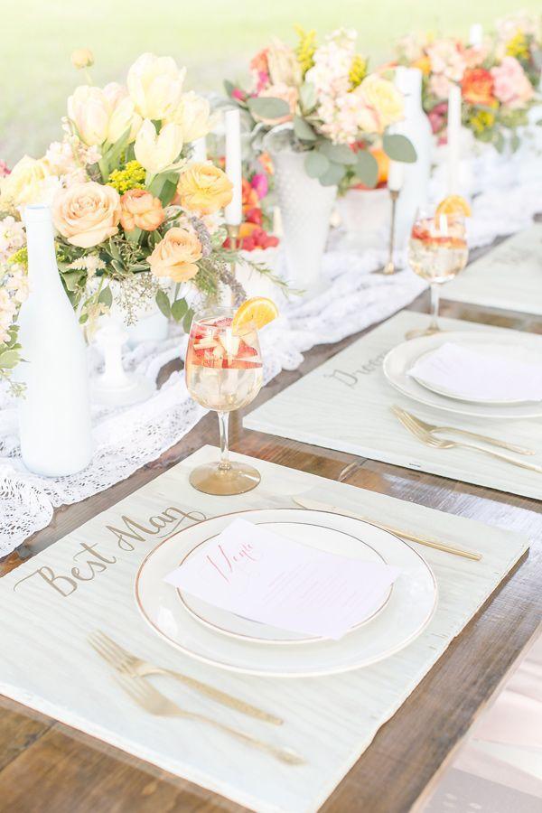 Wedding - Sangria Inspired Wedding Ideas