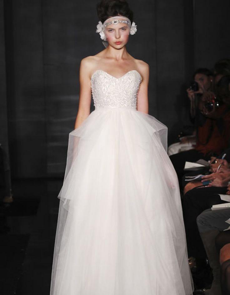 Nozze - Strapless Wedding Dress Inspiration