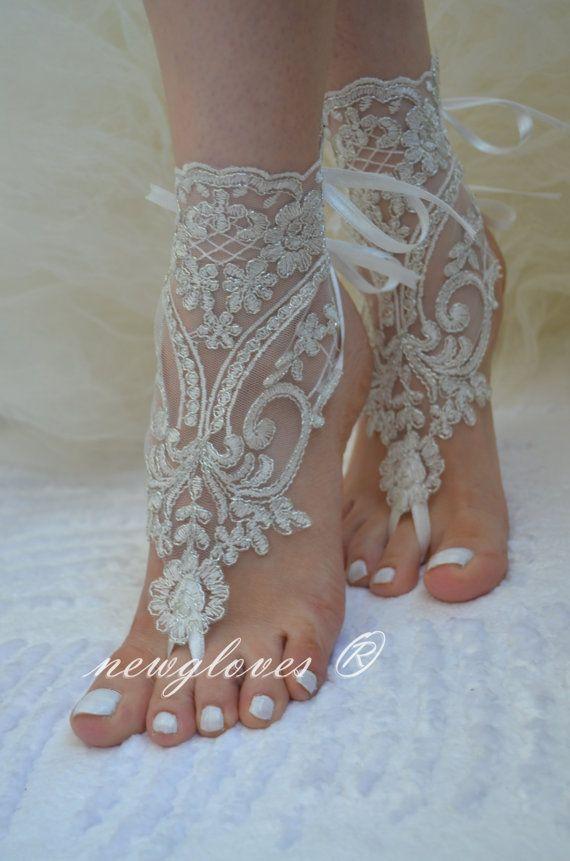 barefoot wedding shoes - photo #41