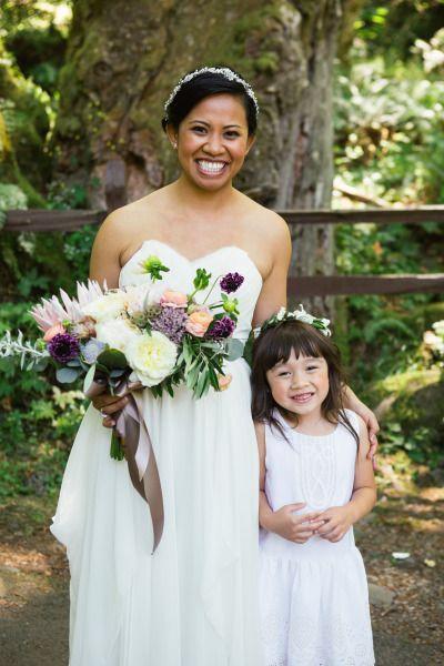 Boda - Spontaneous DIY Oregon Wedding At Wahkeena Falls