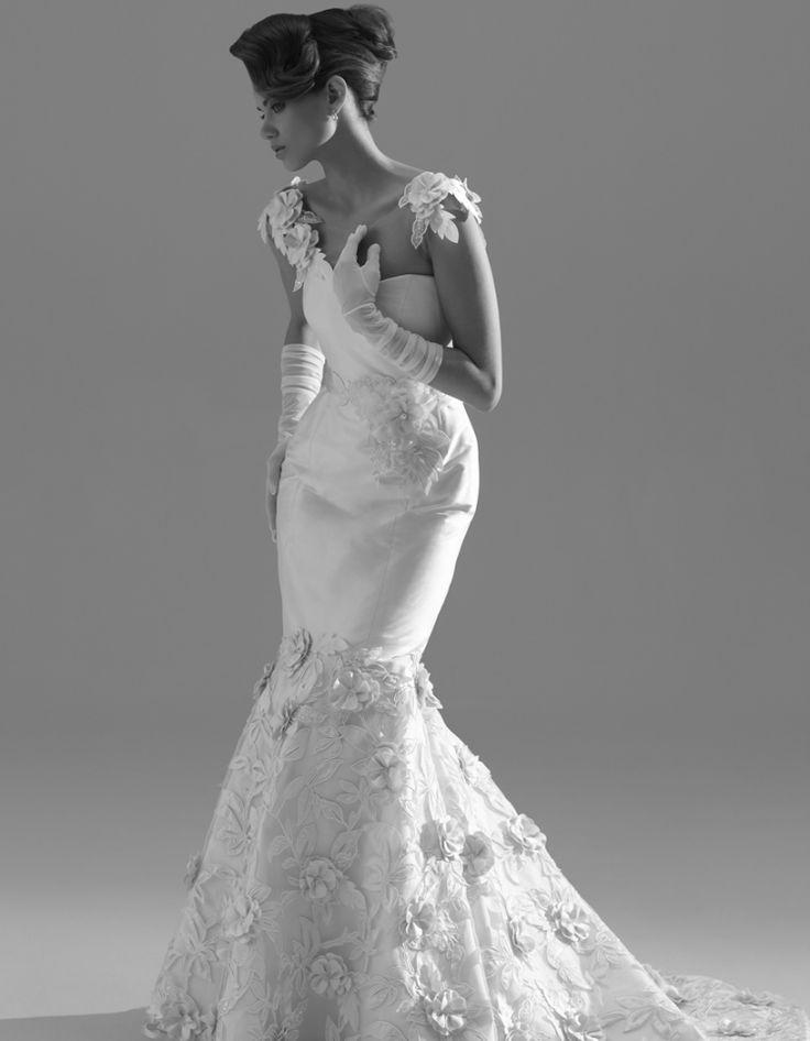 زفاف - Short Sleeved/Cap Sleeved/Off The Shoulder Sleeves Wedding Gown Inspiration
